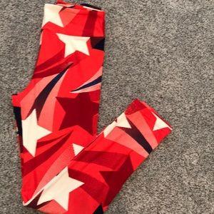 LuLaRoe OS Americana Leggings